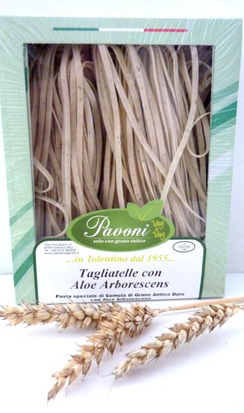 Tagliatelle all'Aloe Arborescens